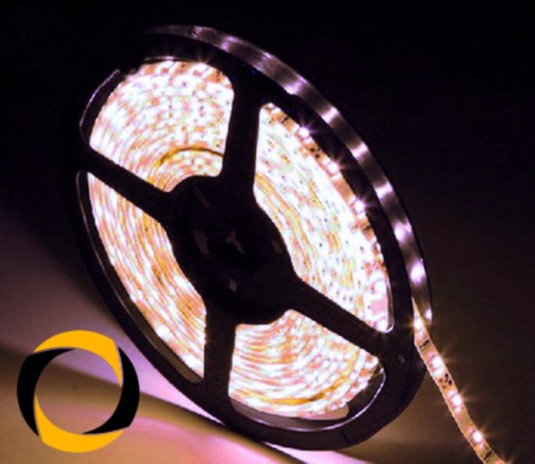 LED Streifen mit SMD5050 LEDs (60 LEDs/m) 5m Rolle kaltweiß